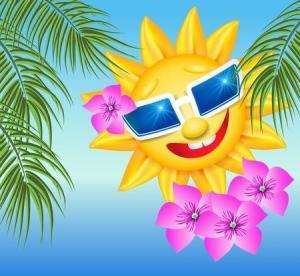 Солнце полезно для здоровья дёсен
